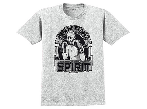 Frank Dandy Fighting Spirit Tee Grey