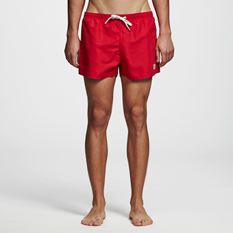 Breeze SwimShorts - Chinese Red