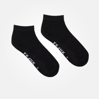 Black - Bamboo Ankle Sock