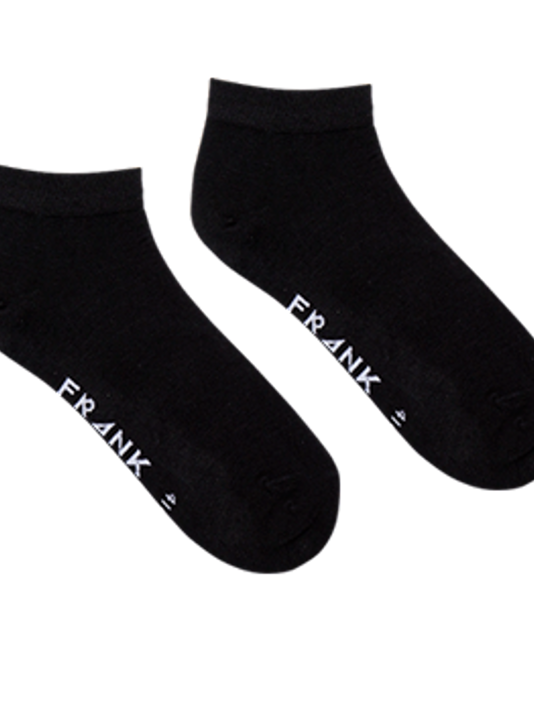 Black - Bamboo Ankle Sock