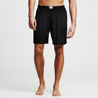 Bamboo Lounge Shorts - Black