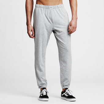 Bamboo Lounge Pants - Gråmelerade