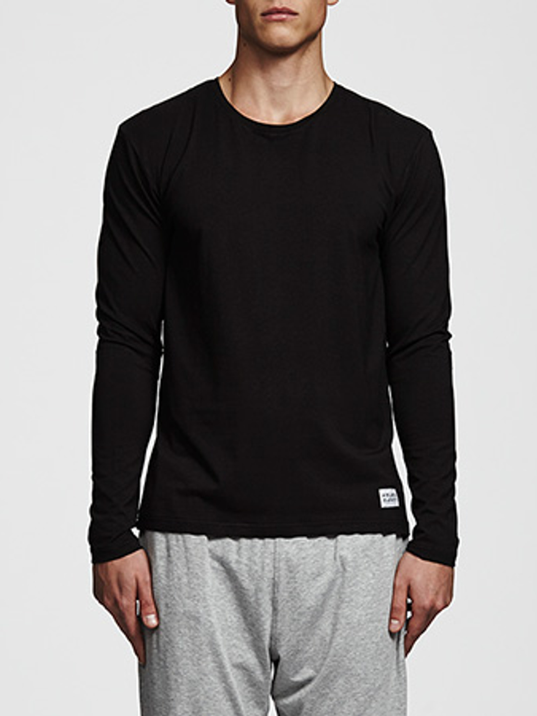 Bamboo Long Sleeve Tee - Svart
