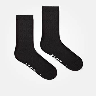Black - Bamboo Sock