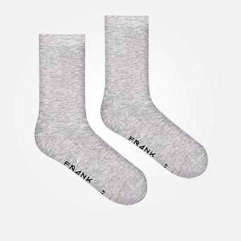 Grey Melange - Bamboo Sock