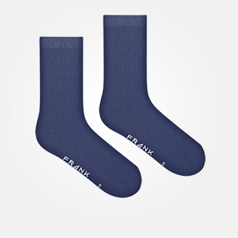 Dark Navy - Bamboo Sock