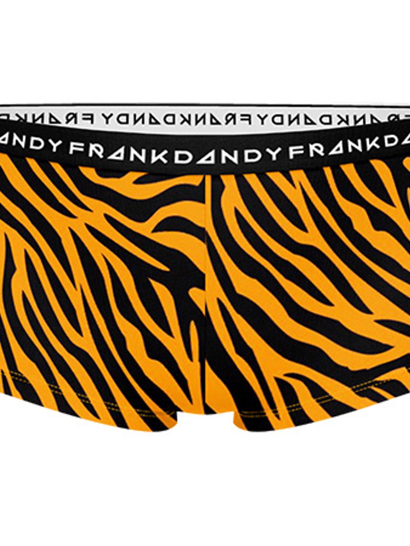 2 Pack Women's Tiger Boxer - Orange