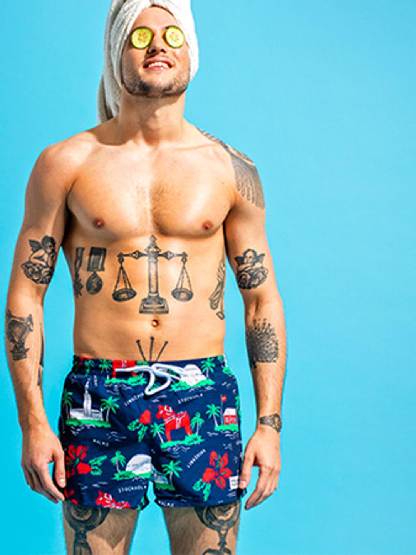 Swewaii Swimshorts - Navy Blue