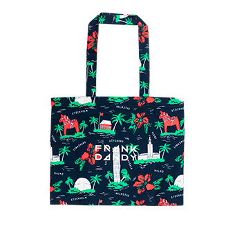 Swewaii Beach Tote Bag - Marinblå