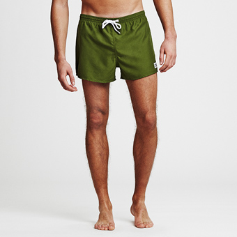 Breeze Swimshorts - Militärgrön
