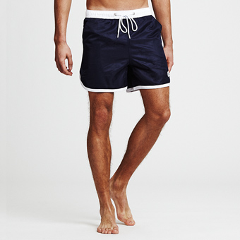 St Paul Long Swim Shorts - Marinblå