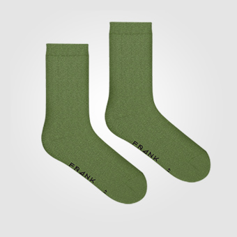 Bamboo Solid Crew Sock