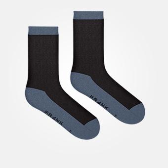 Black/Vintage Indigo - Bamboo Socks