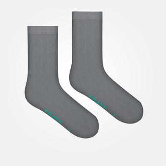 Grey - Bamboo Socks