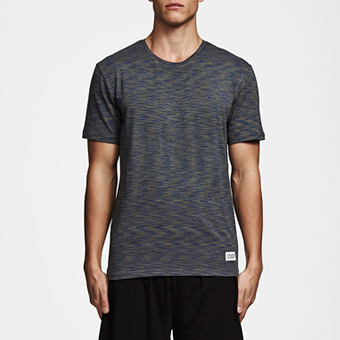 Bamboo Tee - Space Green Indigo