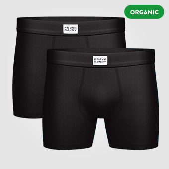 2P Legend Organic Boxer - Black