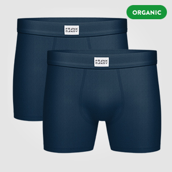 2P Legend Organic Boxer - Dark Navy