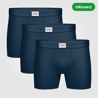 3P Legend Organic Boxer - Dark Navy