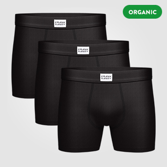3P Legend Organic Boxer - Black