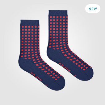 Dark Navy - Bamboo Diamond Socks