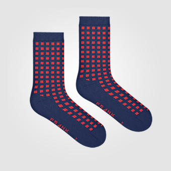 Bamboo Diamond Crew Sock
