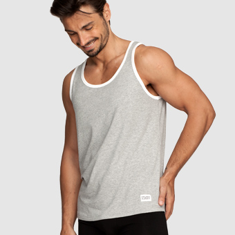 Bamboo Contrast Singlet