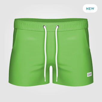 Breeze Long Swim Shorts - Spring Green