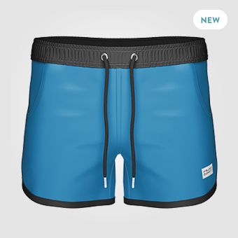 St Paul Long Swim Shorts | Blå/Svart