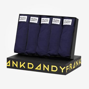 5-Pack Presentbox Kalsonger - Marinblå