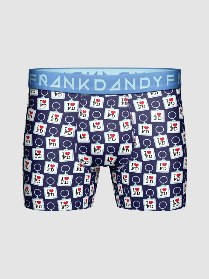 Frank Dandy Key Ring Boxer