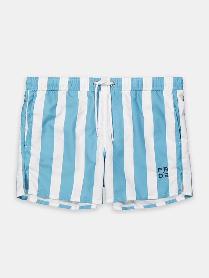 Frank Dandy The Striped Swim Shorts