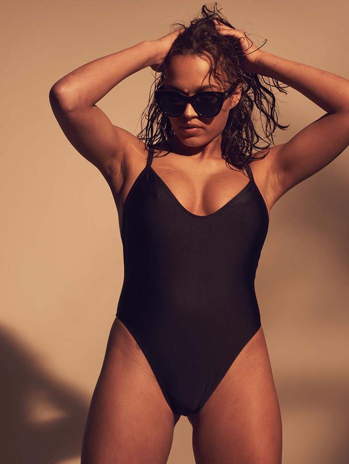 Frank Dandy Swimsuit All Black