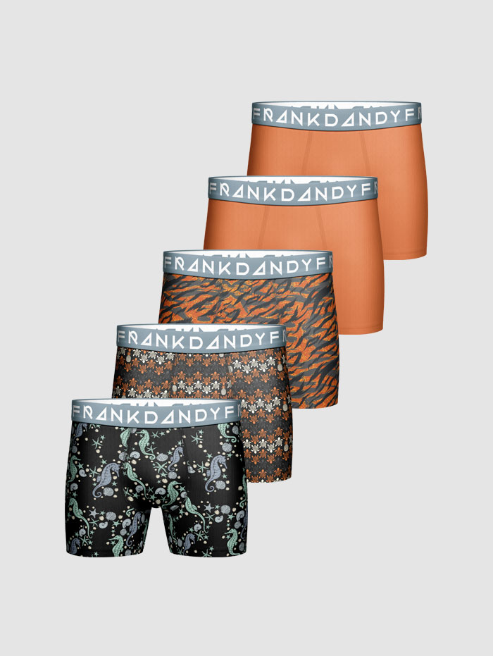 Frank Dandy 5-pack Summer Sea Boxer