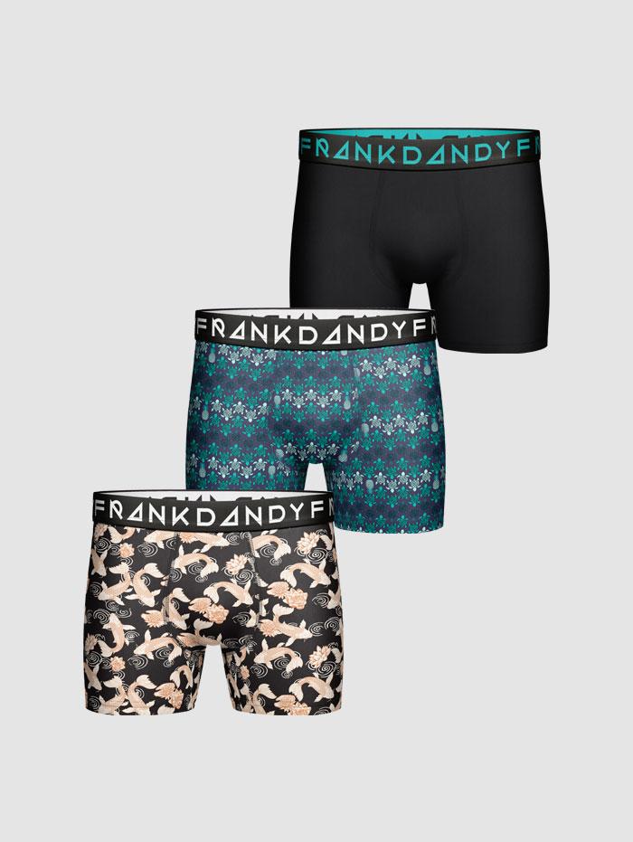 Frank Dandy 3-Pack Turtle Koi Boxer