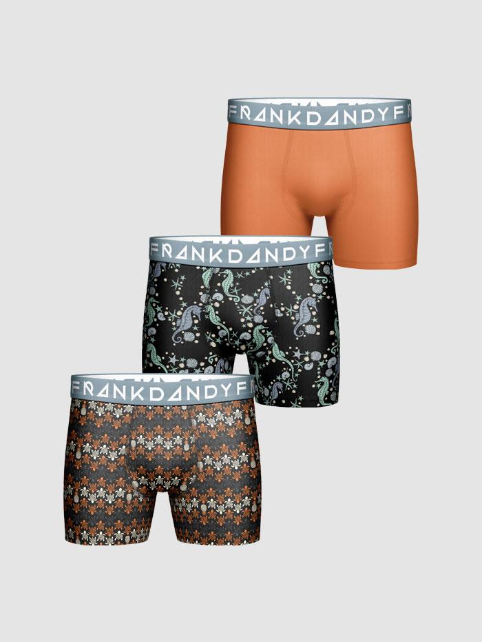 Frank Dandy 3-Pack Deep Sea Boxer